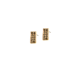 The Mimi Crystal Stone Bar Studs