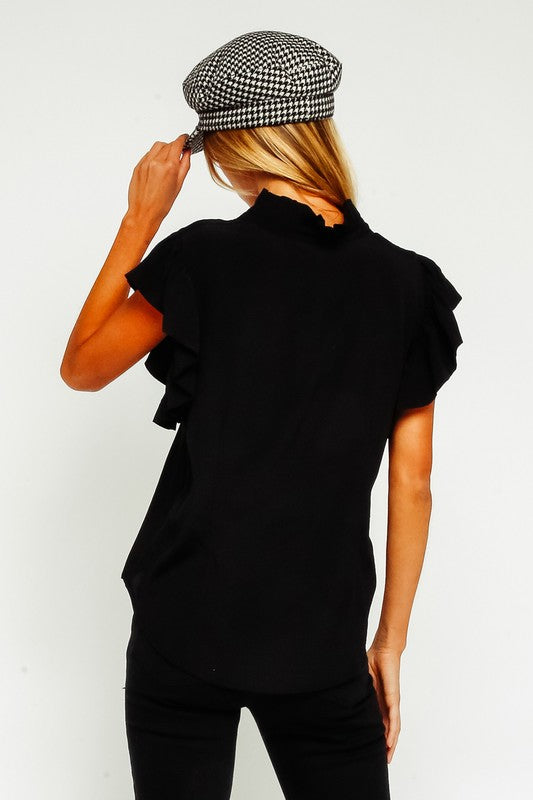 The Dani Ruffle Blouse