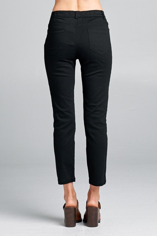 The Alexis Slip-On Capri Pants