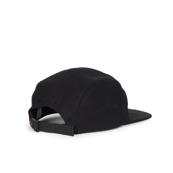 Glendale Wool and Suede Black Cap by Herschel Supply Co.