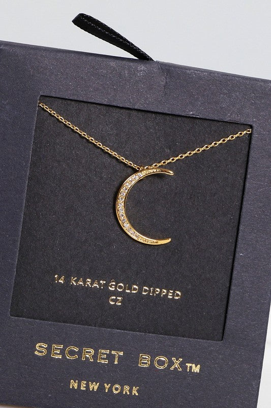 The Dainty Crescent Moon Necklace