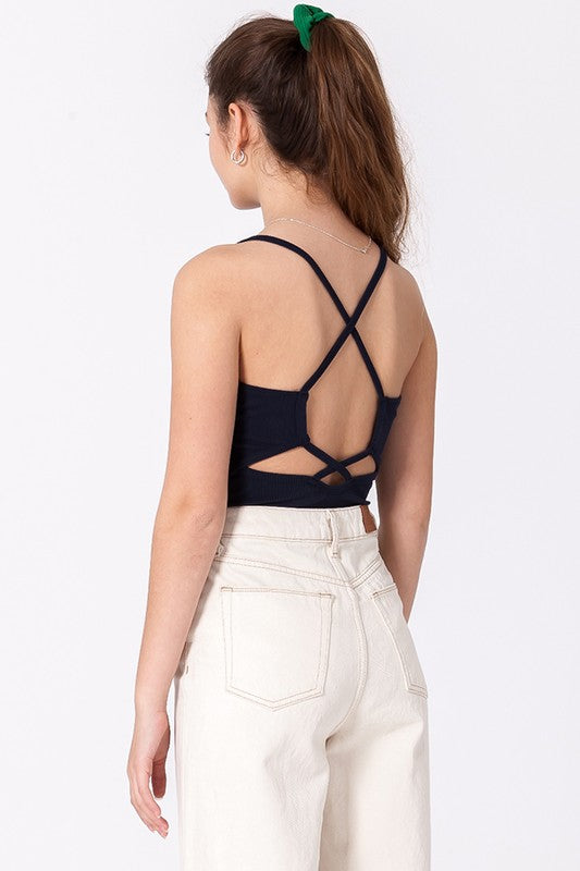 The Becky Ribbed Stappy Bodysuit