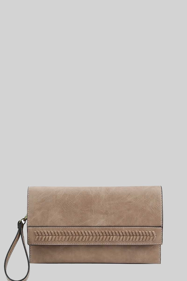 The Laura Braided Convertible Clutch