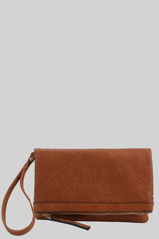 The Miel Slit Detail Crossbody Clutch