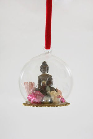 The Buddha Globe Ornament