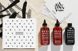 Threes Knees Spicy Giftbox Trio by Bushwick Kitchen