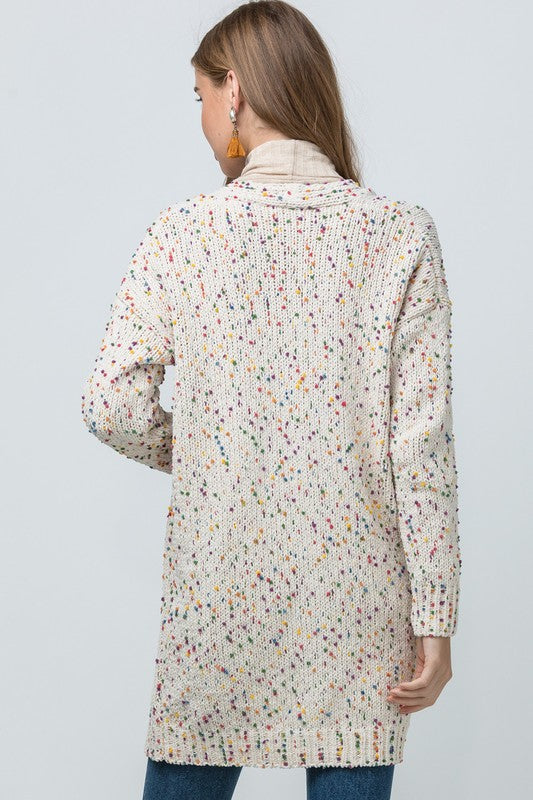 The Victoria Confetti Cardigan