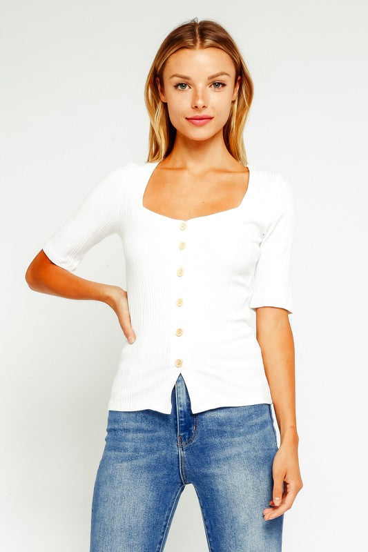 The Gianna Button Down Top