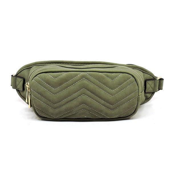 The Mandi Vegan Quilted Fanny Pack