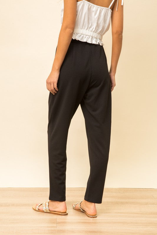 The Miley Tapered High Waist Lounge Pants