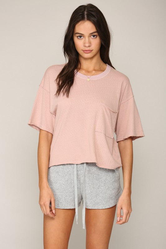 The Rhoda Pocket Tee
