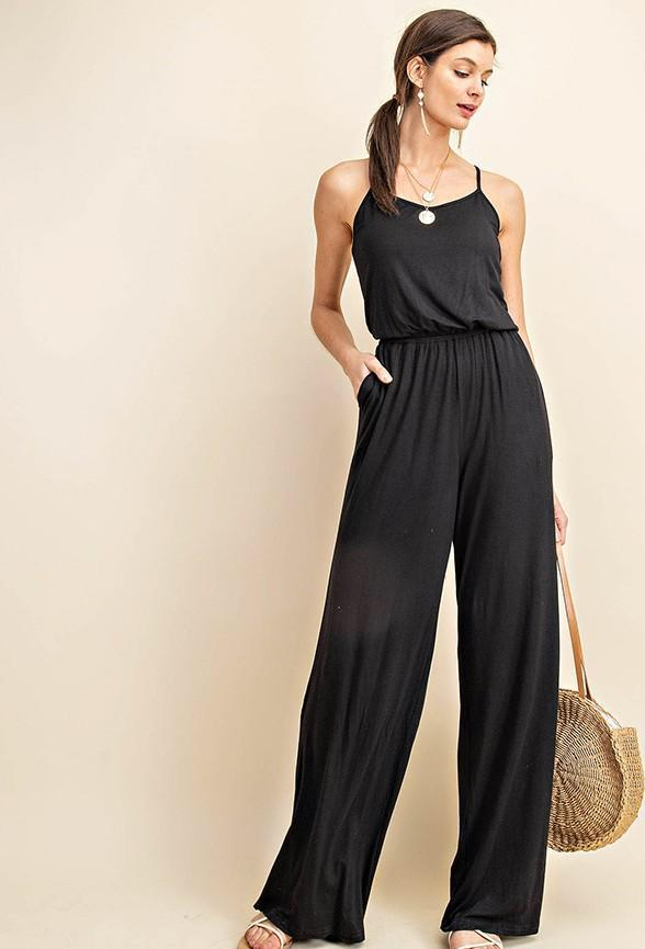 The Kaya Low Back Jumpsuit