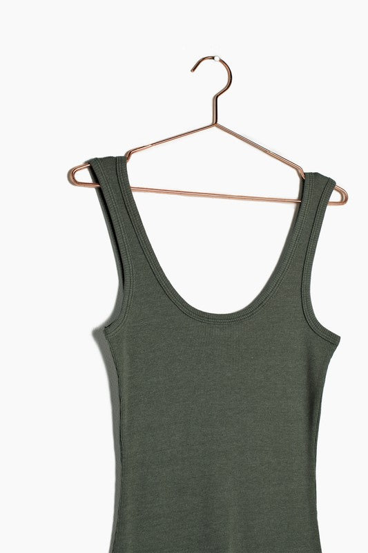 The Abbit Ribbed Tank