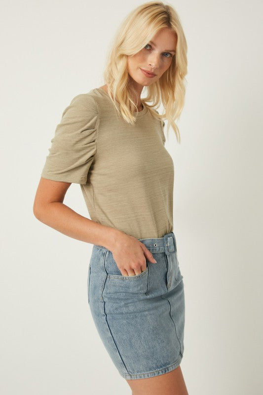 The Nora Puff Sleeve Top