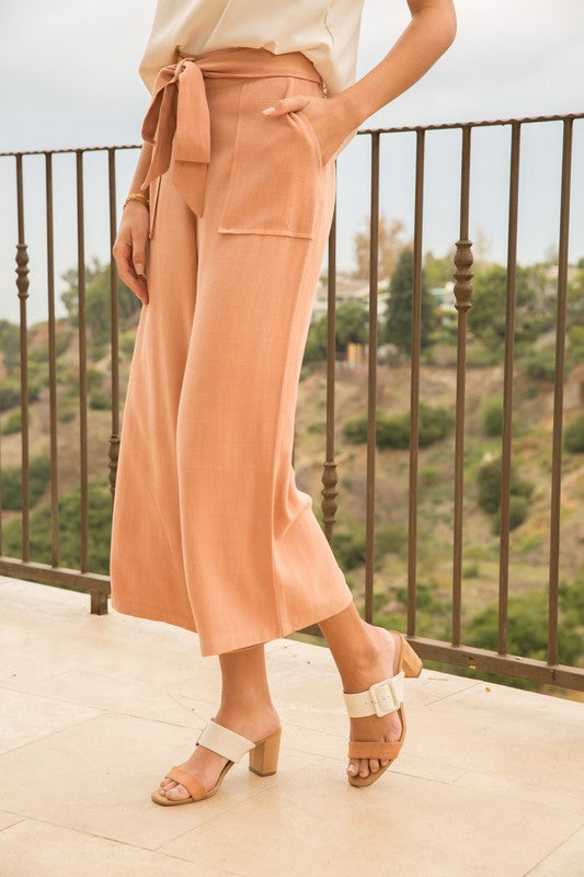The Paloma Wide Leg Trousers