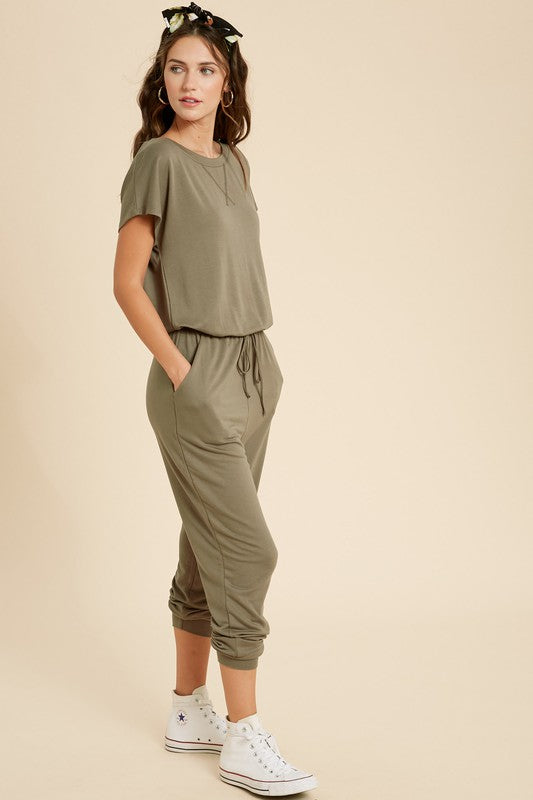 The Sophia Casual Knit Jumpsuit