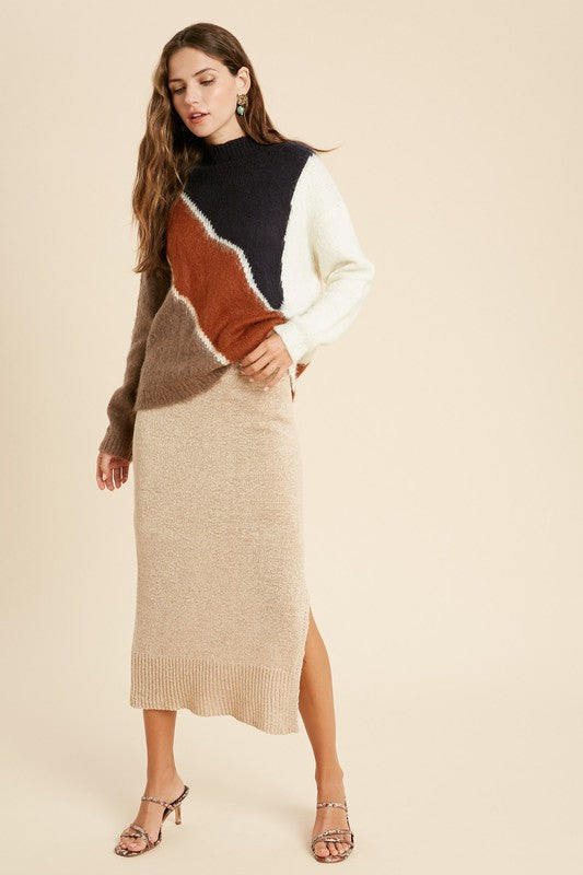 The Teddi Sweater Skirt
