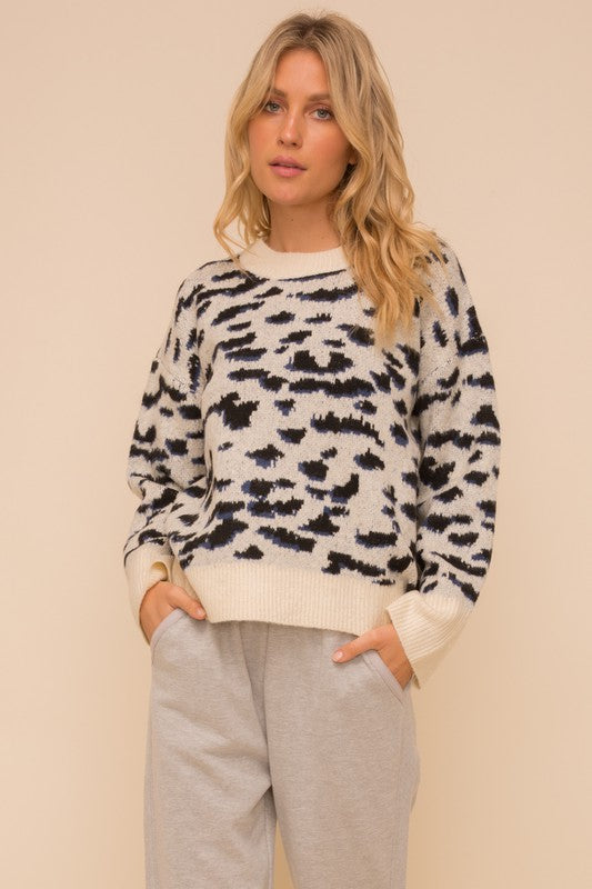 The Matilda Cheetah Print Sweater