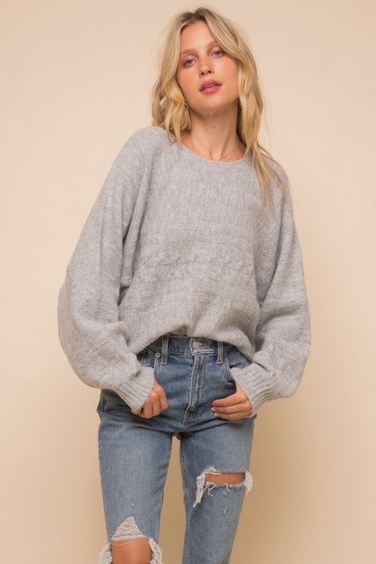 The Harriet Dolman Pullover Sweater
