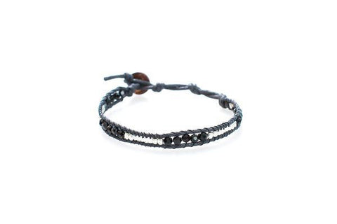 LBD Single Wrap Bracelet by Lotus and Luna