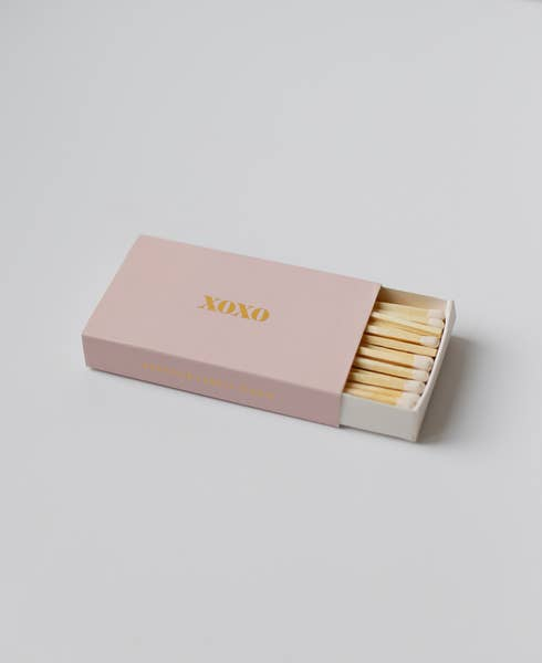 XOXO Matches by Brooklyn Candle Studio