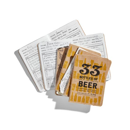 33 Bottles of Beer Journal by 33 Books Co.