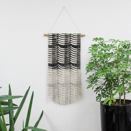 Medium Thick-Thin Wall Hanging by Julia Canright