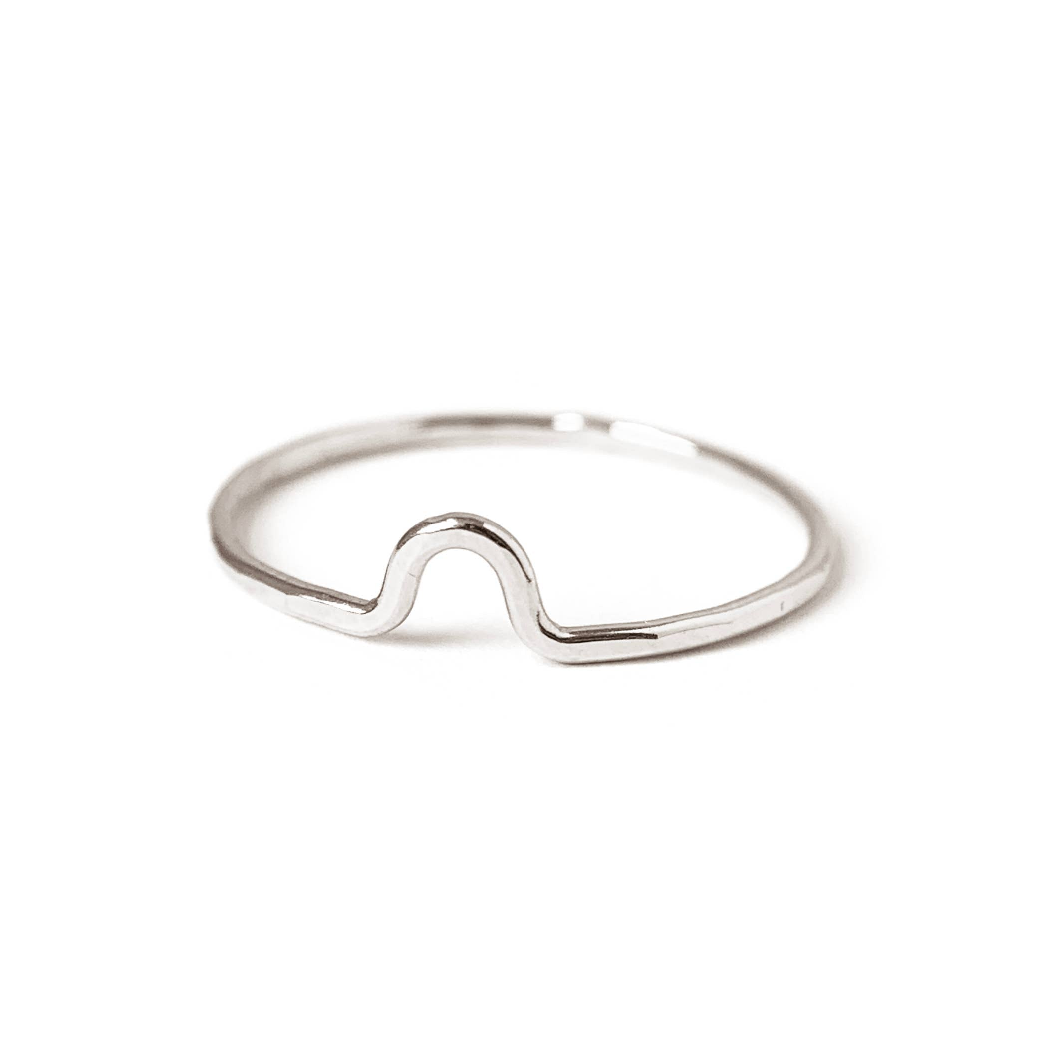 Bridge Stacking Ring by Goldluxe Jewelry