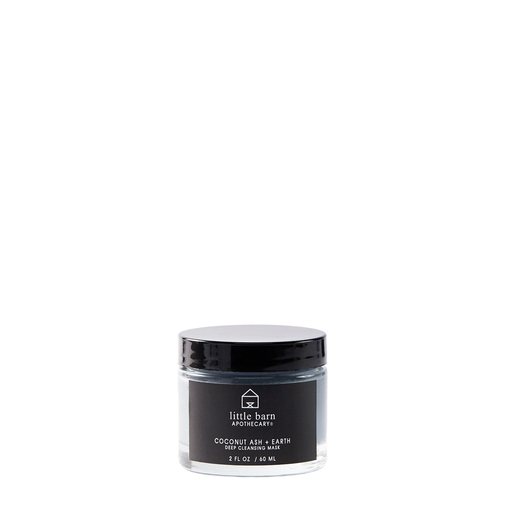 Coconut Ash + Earth Deep Cleansing Mask by Little Barn Apothecary
