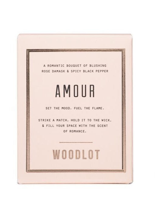 Armour Candle by Woodlot
