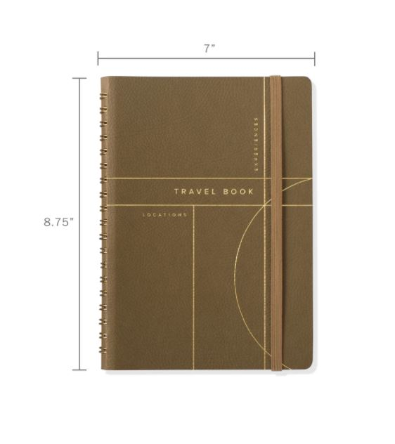 The Circle Grid Travel Journal