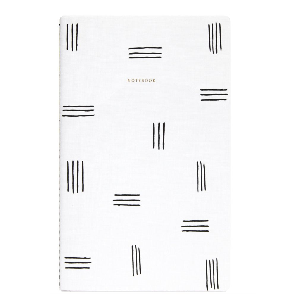 Minimalist Patterned Notebook