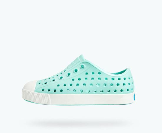 Jefferson Native Kid's Shoe - Hydrangea Blue / Shell White