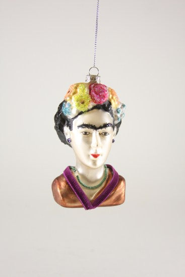 The Frida Kahlo Bust Ornament