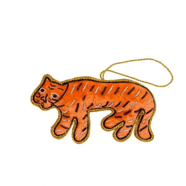 The Tiger Plush Ornament
