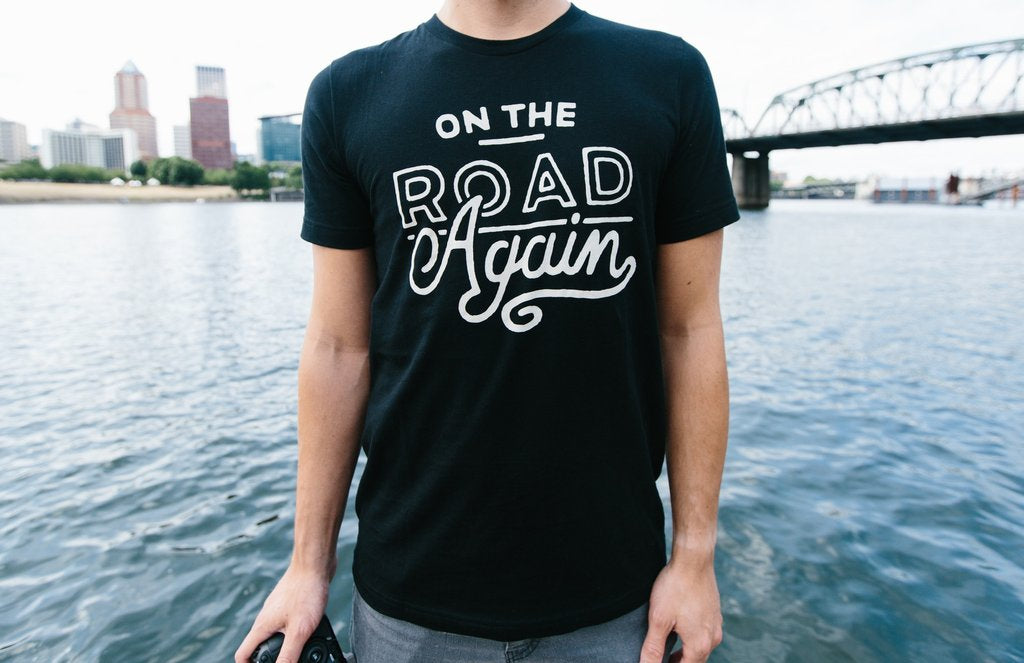 On the Road Again Men's Tee