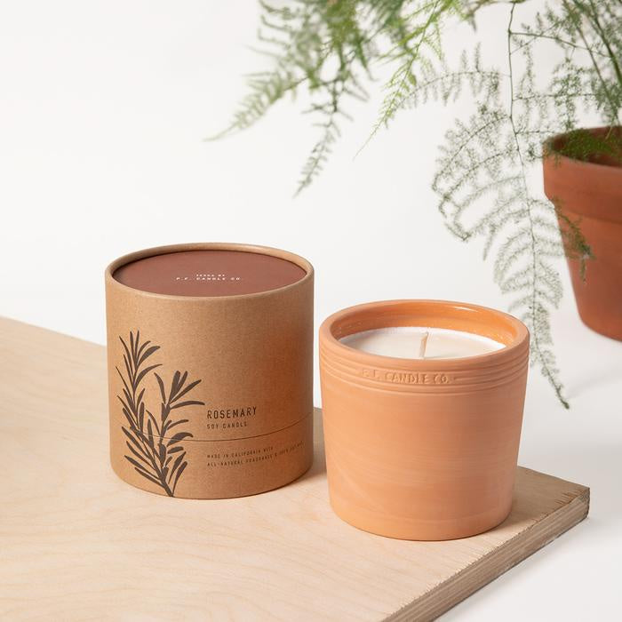 Rosemary All Natural Terra Soy Candle