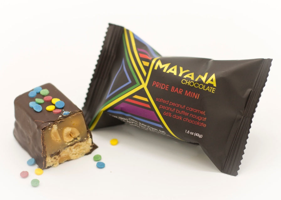Mini Pride Bar by Mayana Chocolate