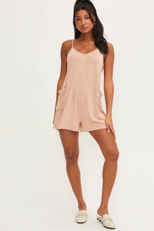 The Felicia Front Pocket Romper