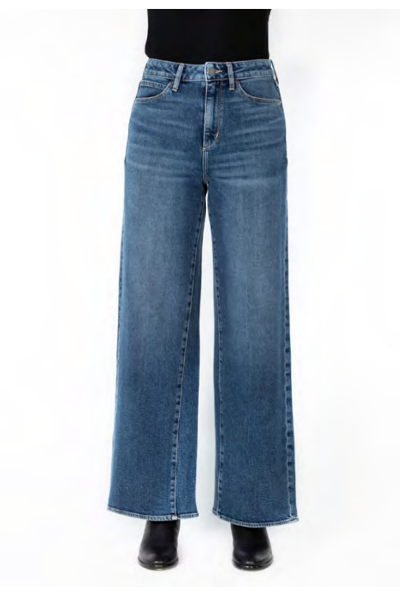The Alana Wide Leg High Rise Jeans by Articles of Society - Oberlin