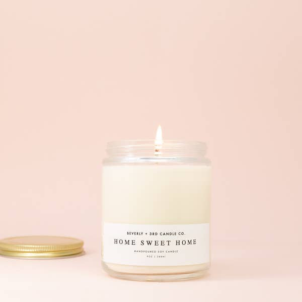 Home Sweet Home Candle by Beverly + 3rd