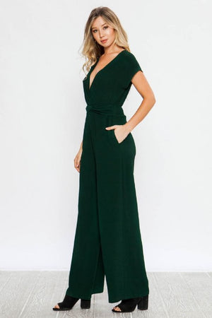 The Keelan Wide Leg Jumpsuit