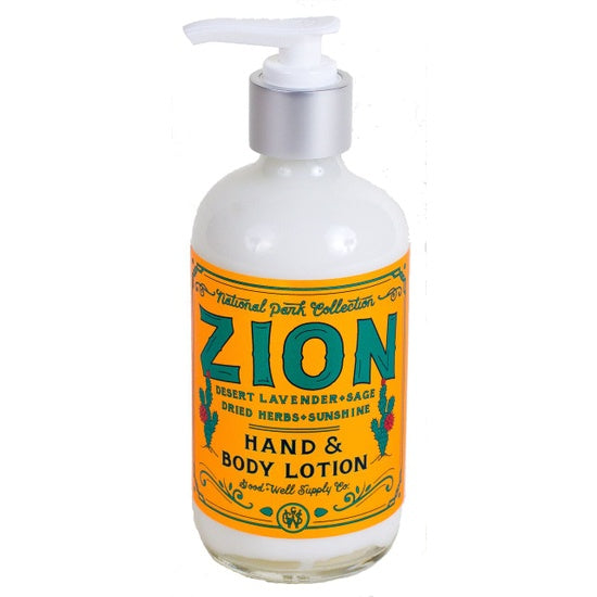 Zion Hand + Body Cream by Good & Well Supply Co