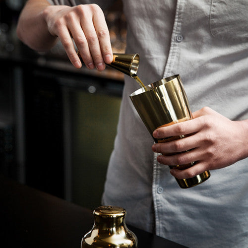 Gold Plated Jigger