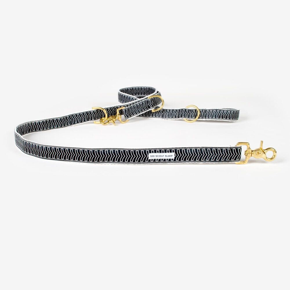 The Black + Cream Chef L'Bark CityLeash by See Scout Sleep
