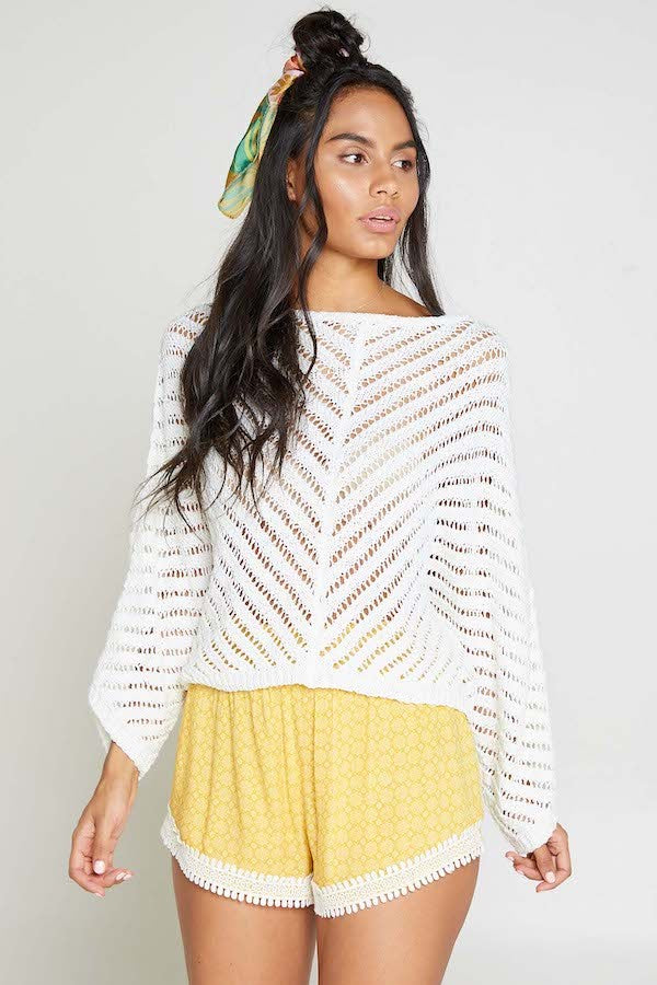 The Gisella Loose Knit Sweater