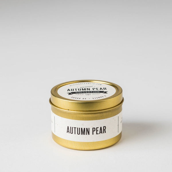 Autumn Pear Travel Tin Candle