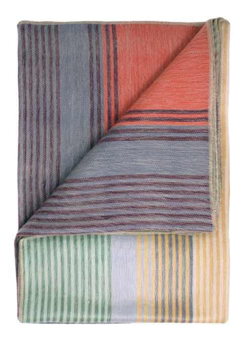 The Spectrum Alpaca Throw by Shupaca