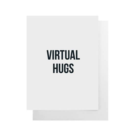 Virtual Hugs Card by Cult Paper