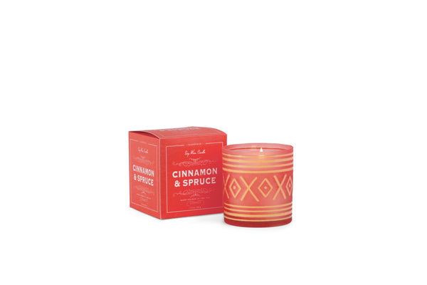 Glee Holiday Candle / Cinnamon Spruce